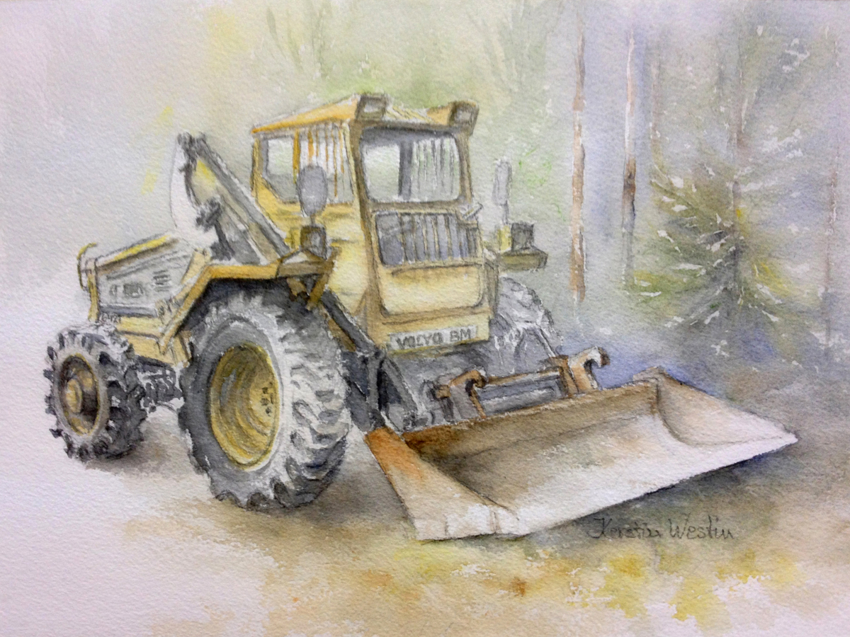 Kerstin Westin Måleri | Akvarell 38 x 28 cm Pris 3 000 kr kerstinwestin.com