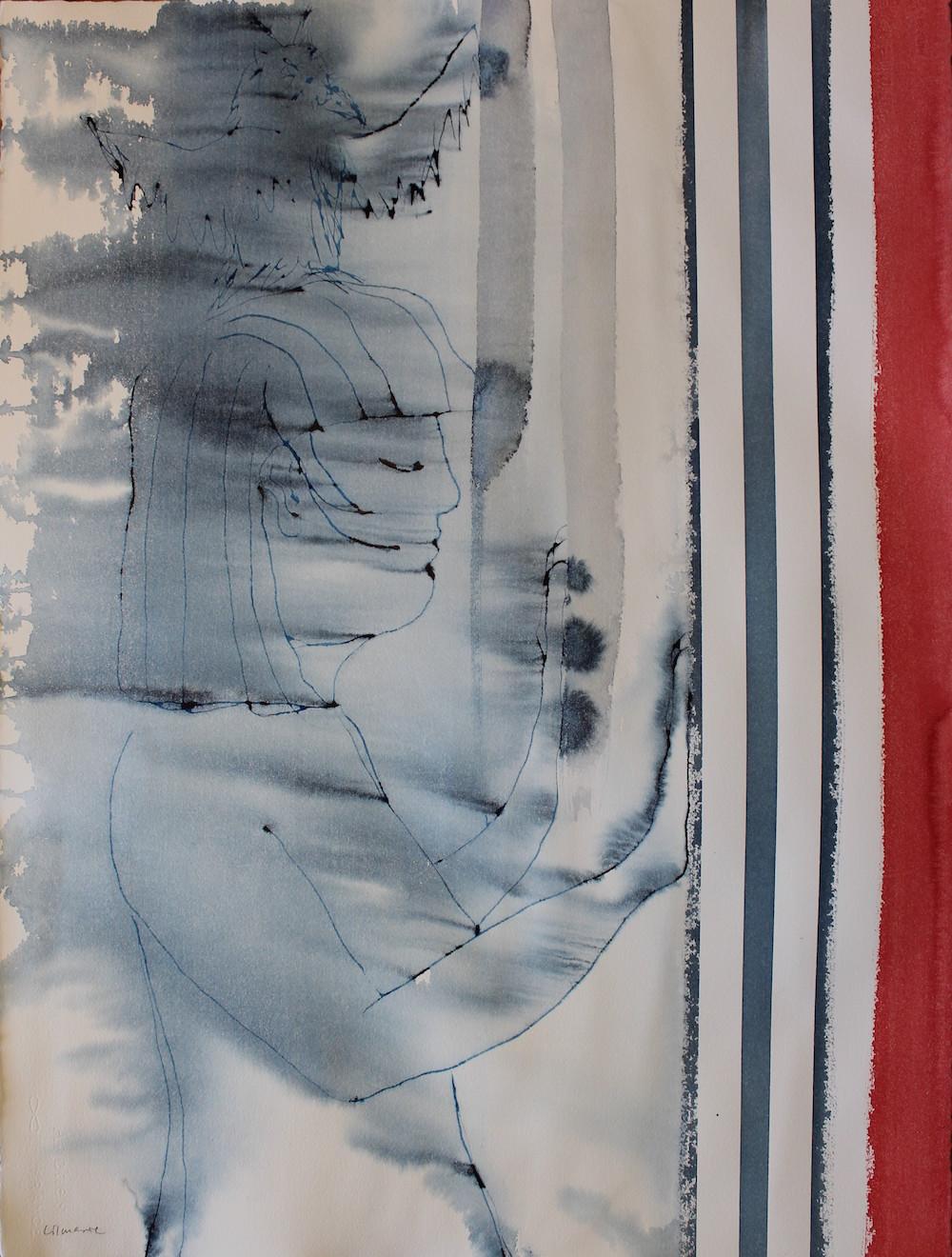 Lilmarie Mellberg Måleri |Akvarell 56 x 76 cm utan ram 3 500 kr lilmarie.se