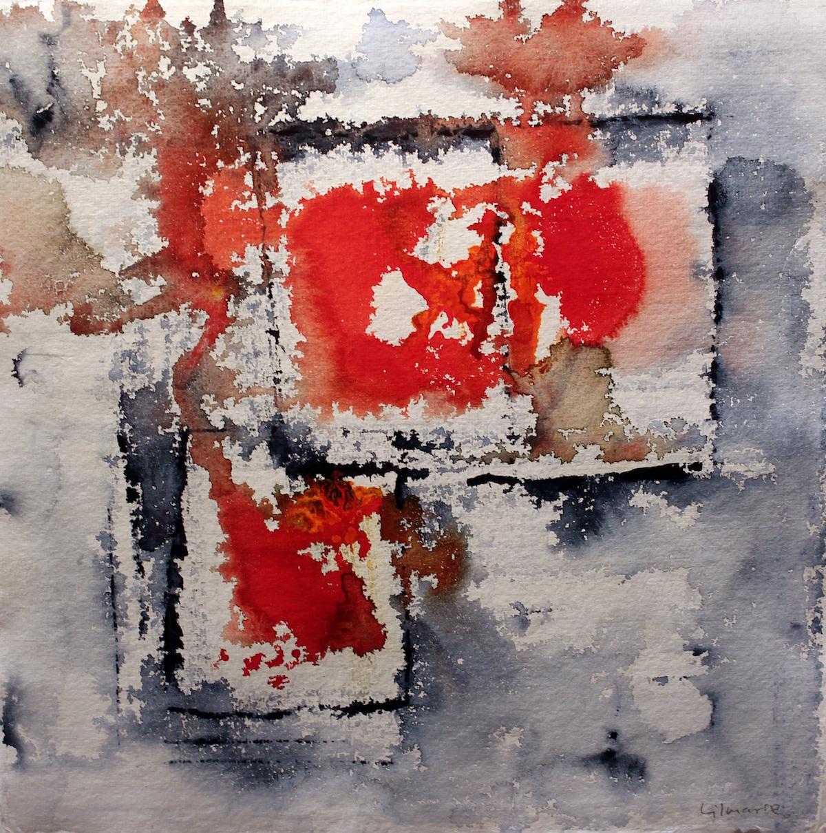 Lilmarie Mellberg Måleri  Akvarell 30 x 30 cm utan ram 43 x 44 cm med ram 3 000 kr med ram lilmarie.se