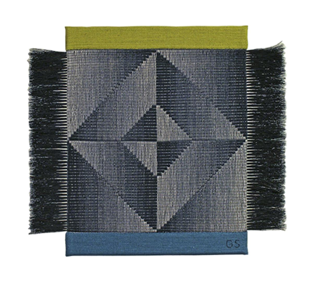 Gudrun Söderholm Textil | Väv, lin och tagel 35 x 32 cm 3 200 kr konsthantverkscentrum.org
