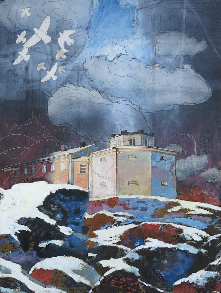 Urban Wikberg Mixed media | Giclée Fine art print på 310g syrafritt konstpapper 30 x 40 cm 1 800 kr, Signerad upplaga 25 ex. urbanwikberg.se