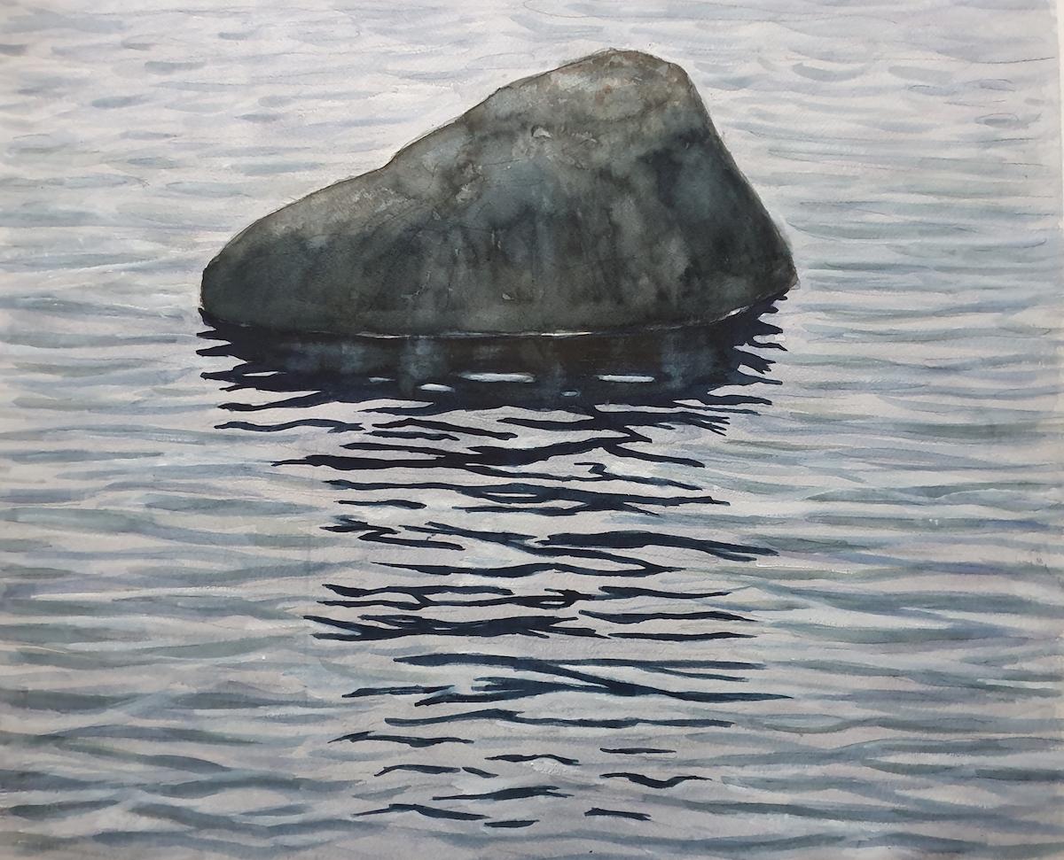 Sven Teglund Måleri | Akvarell 50 x 60 cm 7 000 kr inkl ram www.sventeglund.se