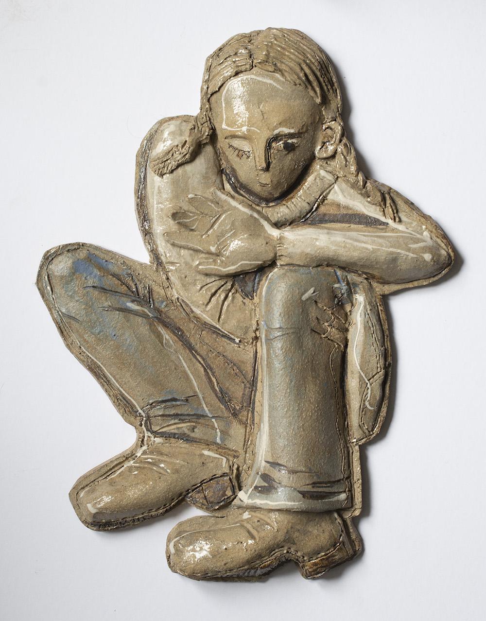 Cecilia Rosenlund Relief | Stengods, fylelera B35 x H46 cm 2 900 kr scillaform.se
