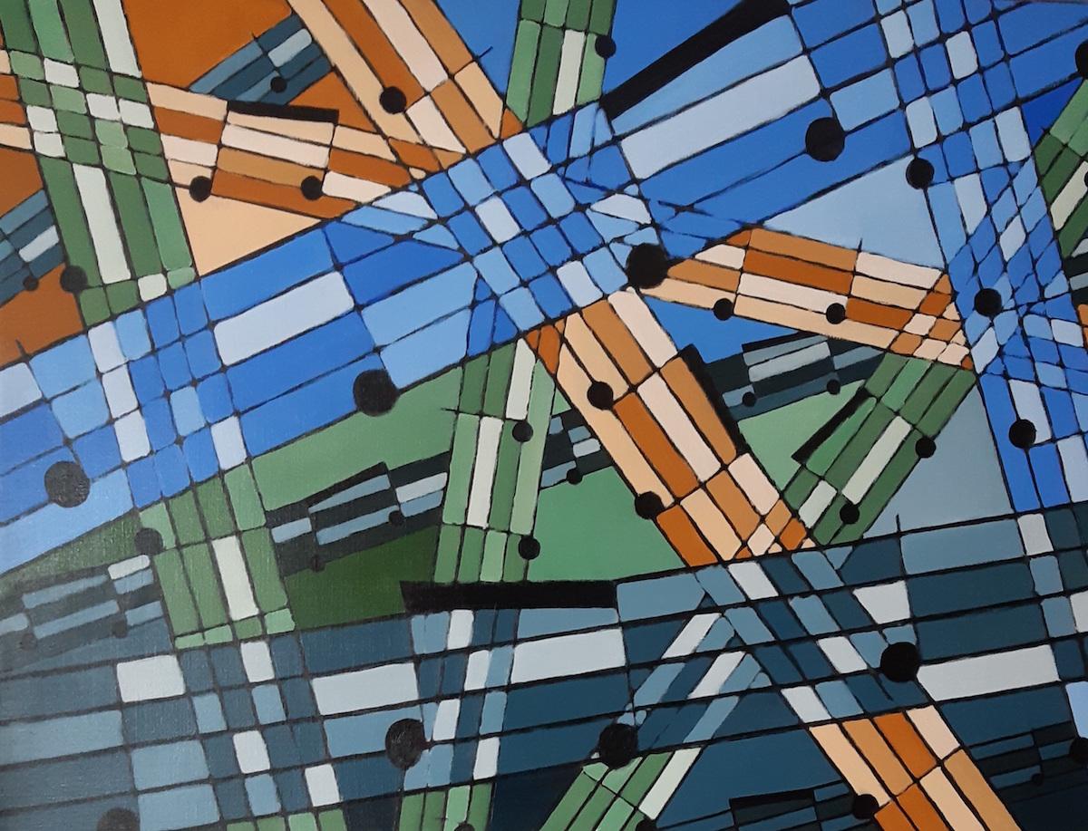 Anders Lindmark Måleri  Olja på duk 115 x 95 cm 12 000 kr instagram.com/anders_lindmarks_konst